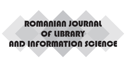 Romanian Journal of Library and Information Science
